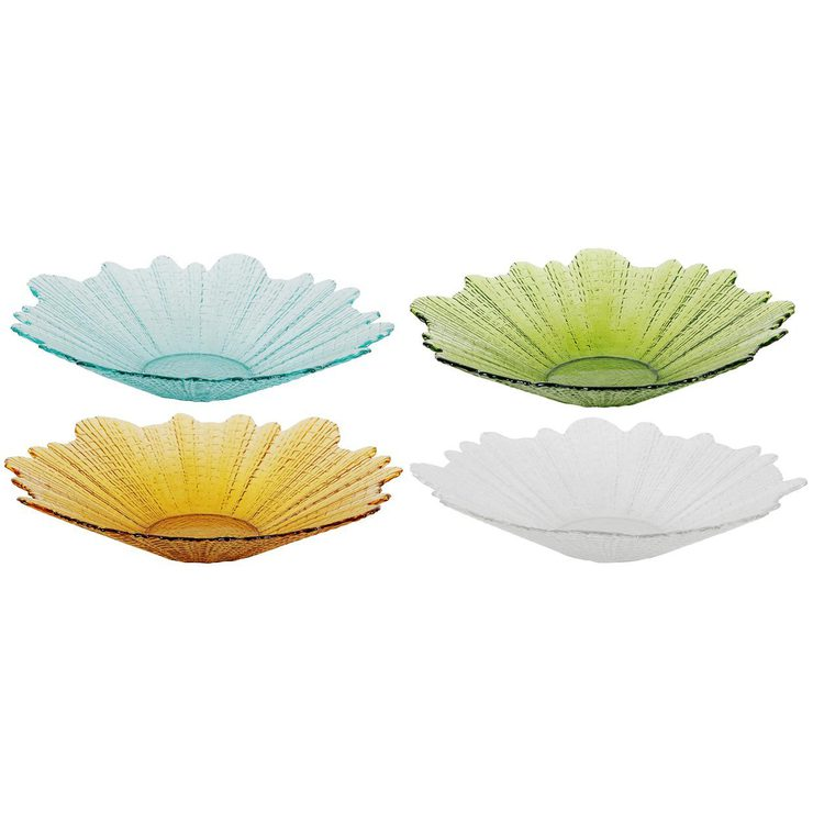Linear Bowls Set 4 Assorted