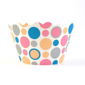 Dot Wrappers Blue Multi