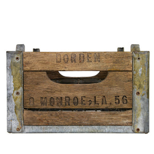 Borden Dairy Milk Bottle Crate