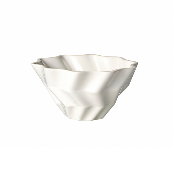 Faccetta Bowl Small White