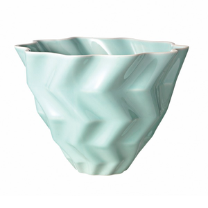 Large Faccetta Bowl Turquoise