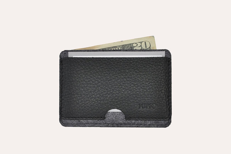 Combo Card Case (Black)