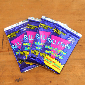 Bill & Ted Trading Cards 4 Pk