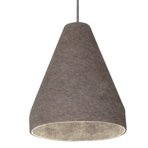 Chamfer Pendant Taupe