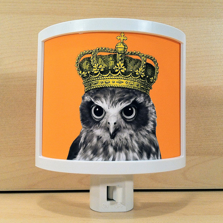 Owls Rule Night Light