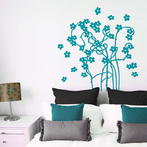 Flirt Lampshade & Decal Teal