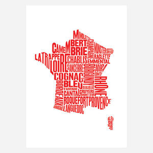 French Fare Red 17x24