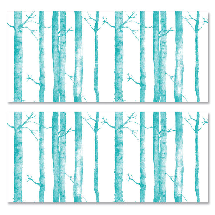 Aspen Tree Wall Tiles Turquoise