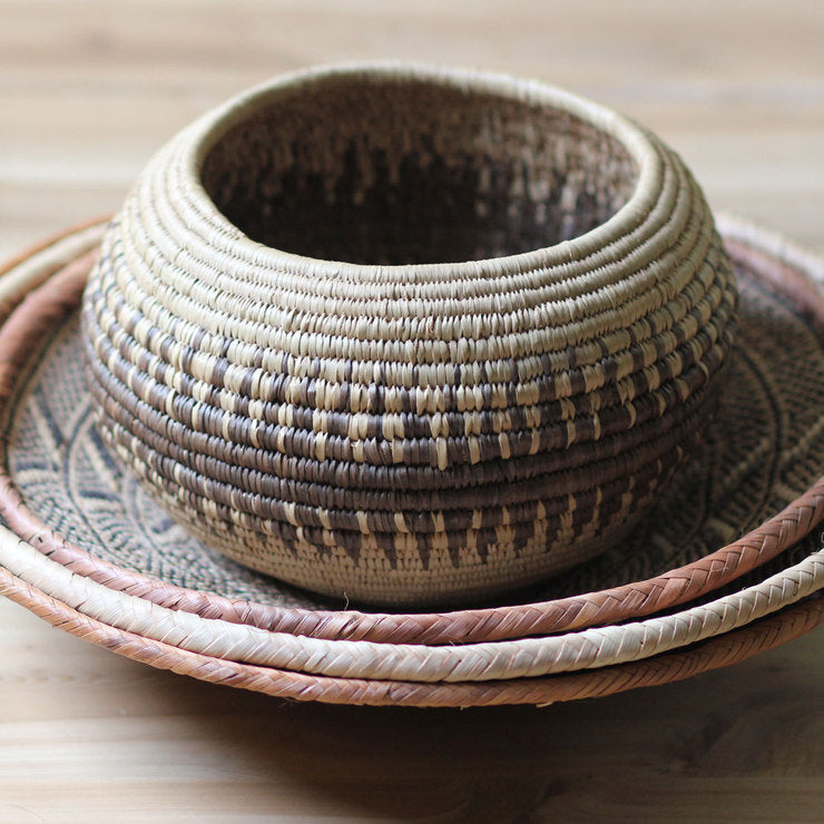 African Baskets Set Of 4