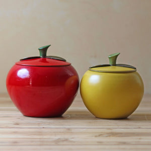 Apple Canister Set 3