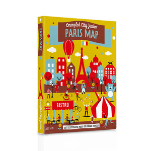 Crumpled City Jr. Map Paris