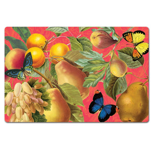 Bountiful Fruit Paper Placemats