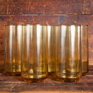 70s Water Glasses Set Of 8
