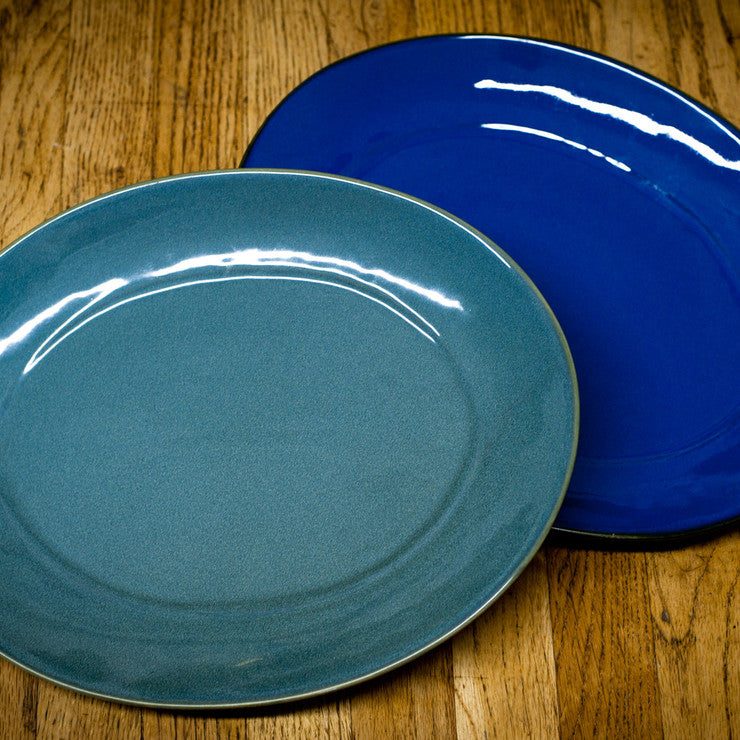 Ceramic Serving Platter Pair