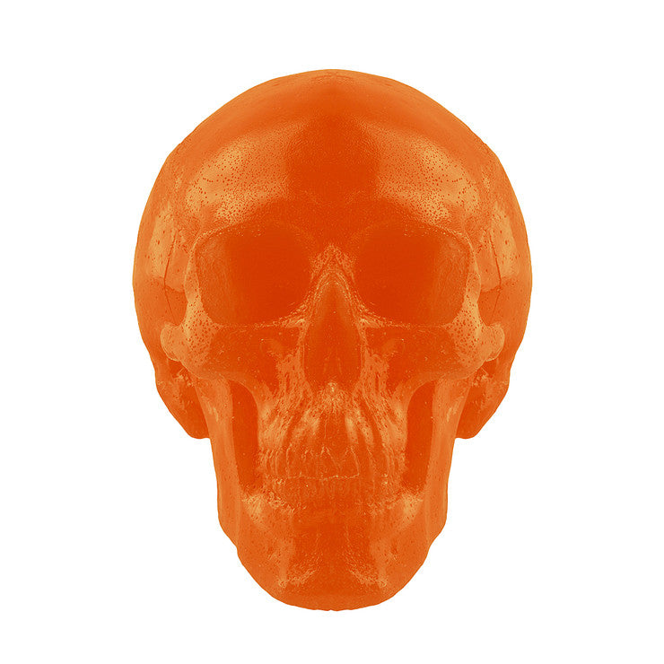Giant Gummy Skull Orange
