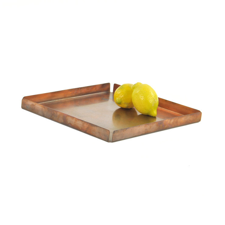 Square Tray Antiqued Medium