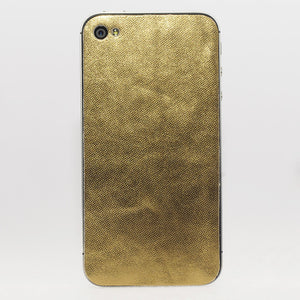 iPhone 4/4S Back Metallic Gold