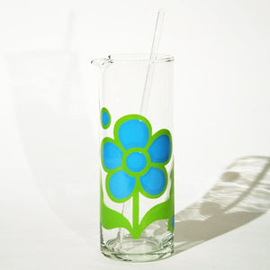 Daisy Pattern Cocktail Pitcher