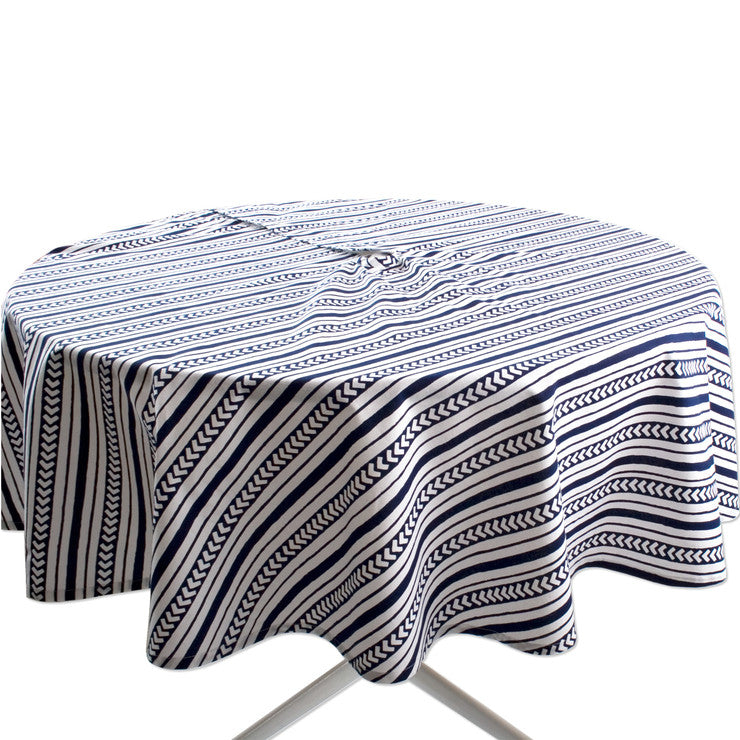 Indigo Umbrella Tablecloth