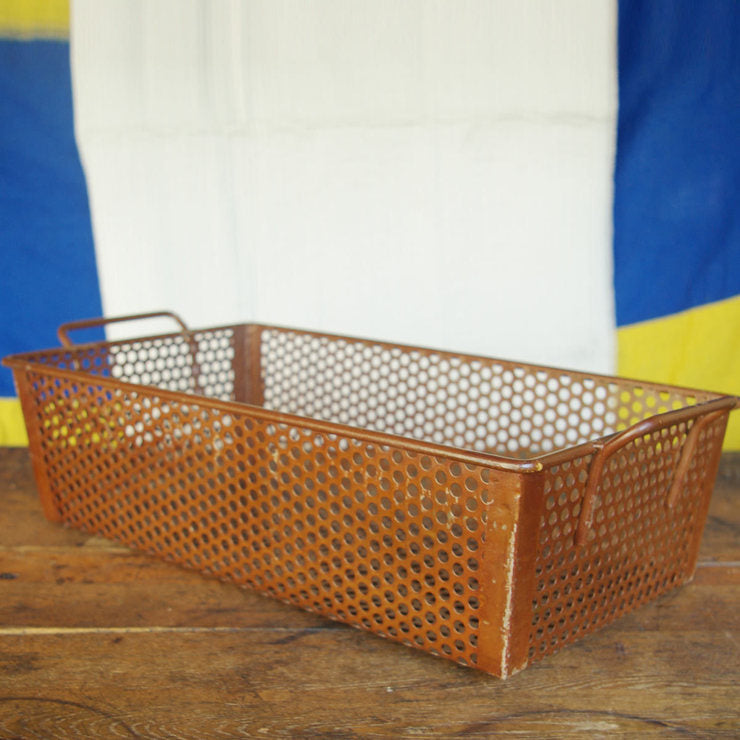 Large Metal Storage Bin