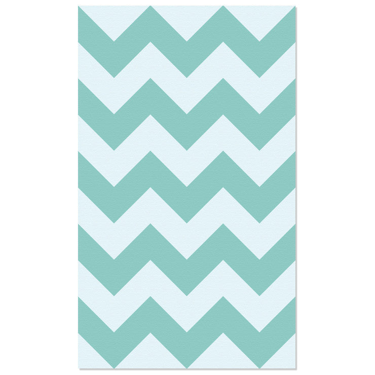Chevron Wall Tile Aqua 24x32