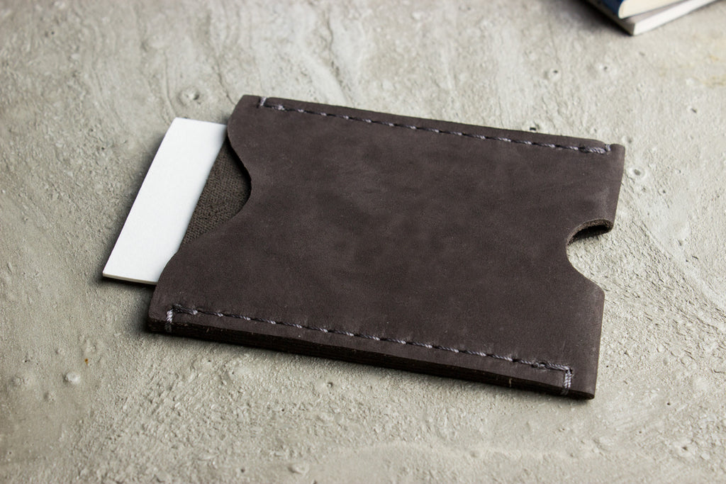 Double Sided Card Case (Brown)
