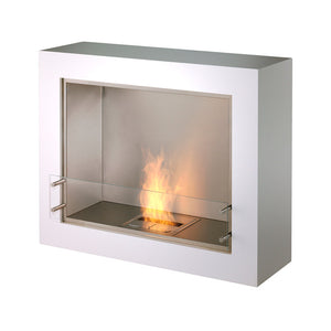 Aspect Outdoor Fireplace White