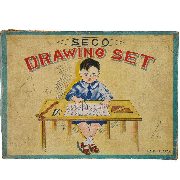 '30s Seco Drawing Set From Japan