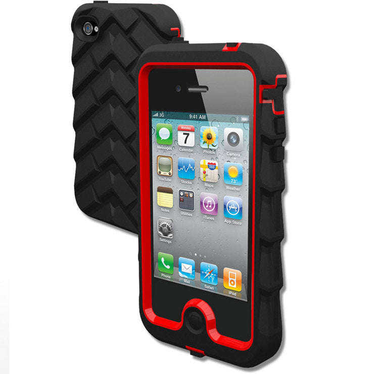 Drop Case iPhone 4 Black/Red