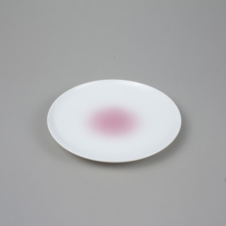 Cloud Salad Plate Pink