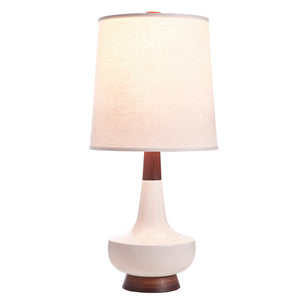 Alberta Table Lamp Walnut