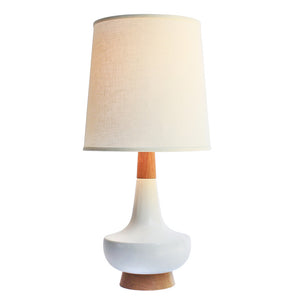 Alberta Table Lamp Red Oak