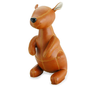 Kangaroo Bookend Tan