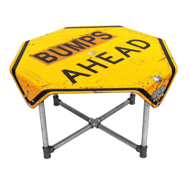 Bumps Ahead Side Table