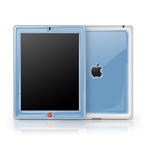 iPad 2/3 Glow Gel Blue Red