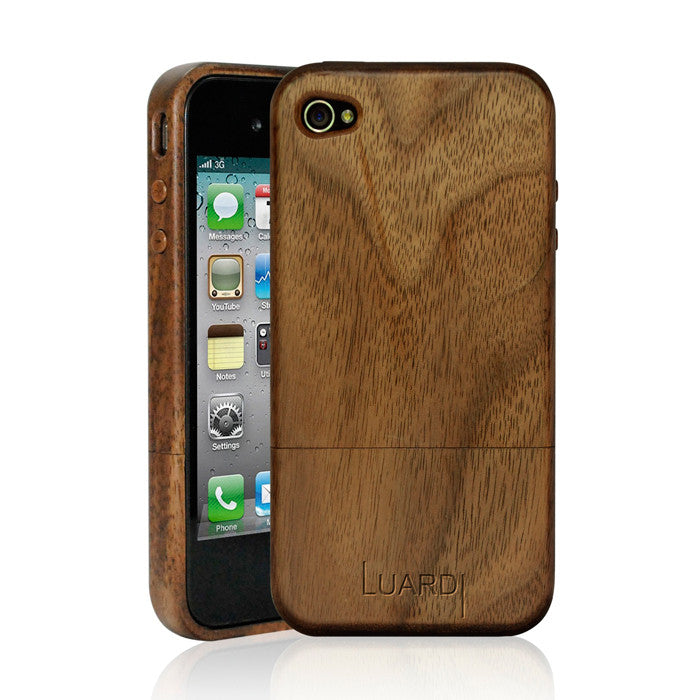 iPhone 4/4S Case Black Walnut