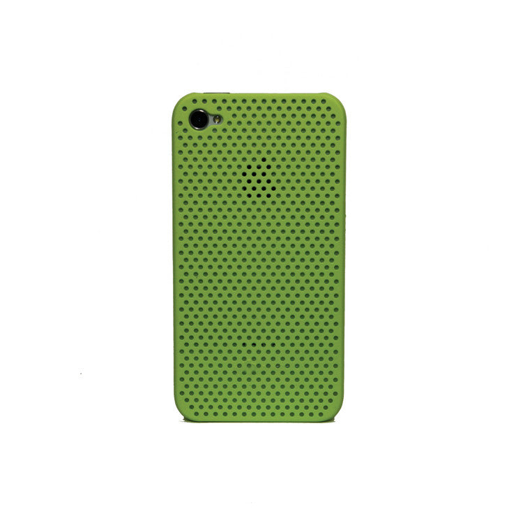 iPhone 4/4S Perforated Lime