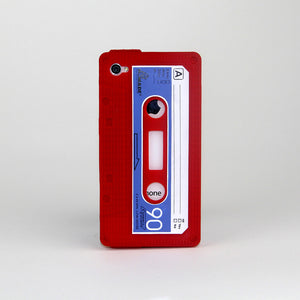 iPhone 4/4S Cassette Case Red
