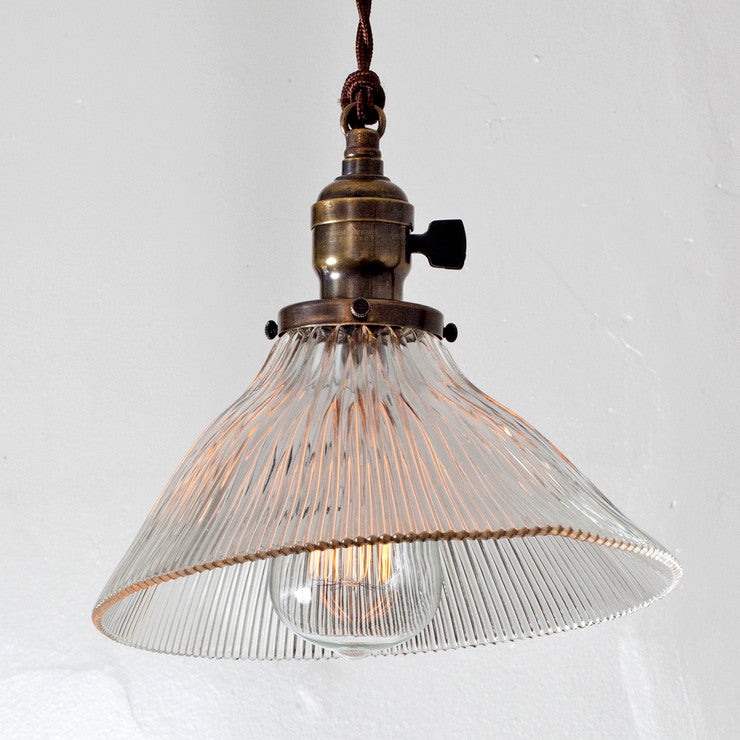 Holophane Conical Pendant Light