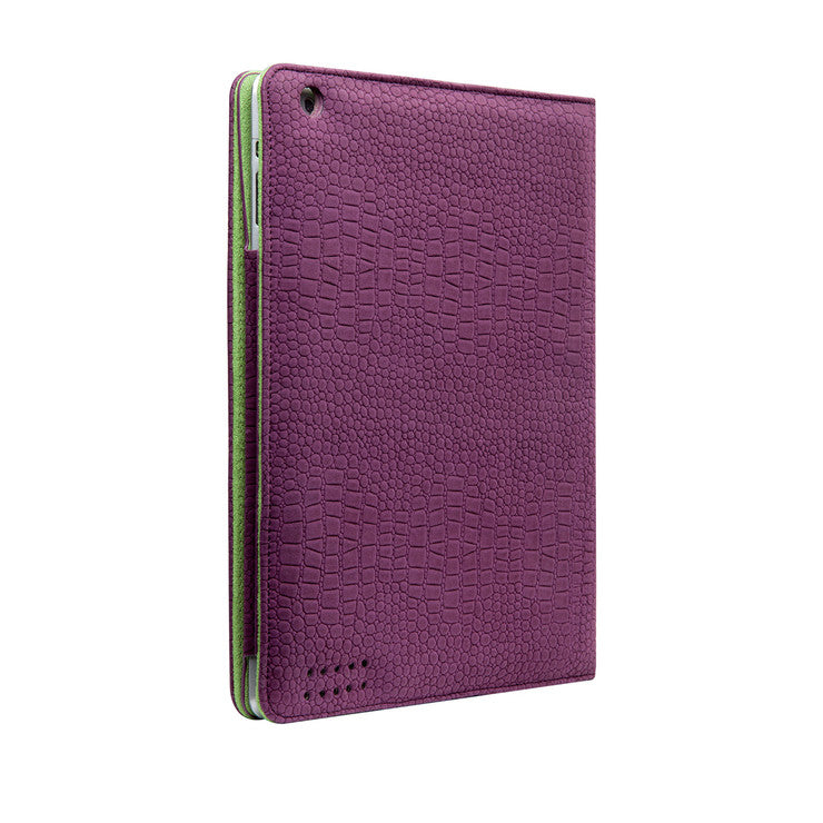 iPad 2 Croc Purple