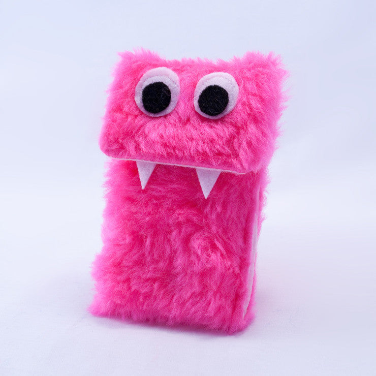 Monster iPhone Sleeve Pink
