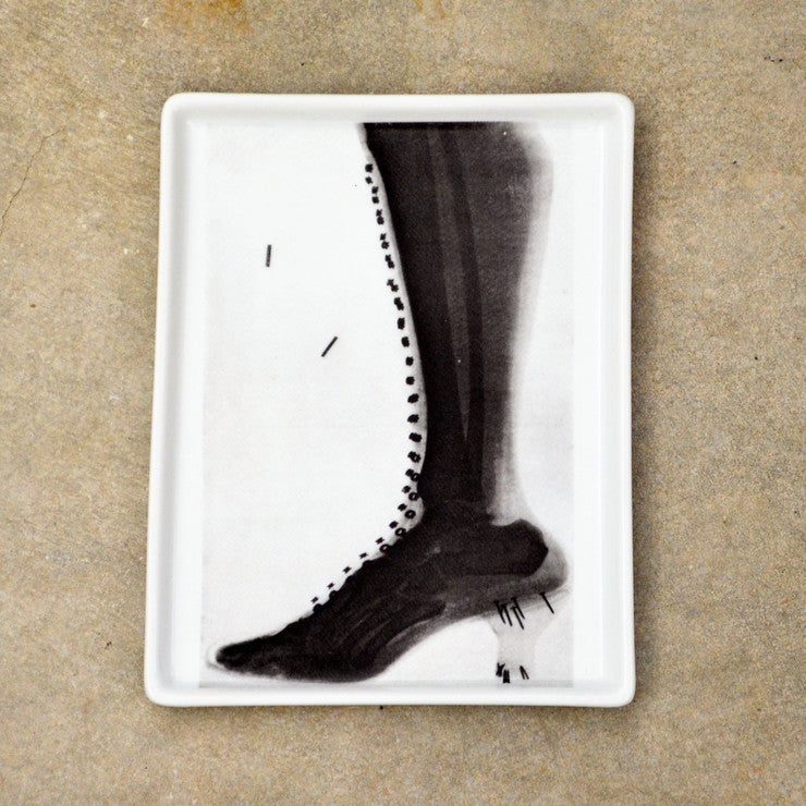 Lady's Boot X-Ray Tray Small