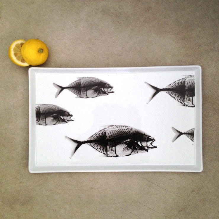 Fishes X-Ray Platter Large