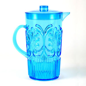 Deco Pitcher Blue