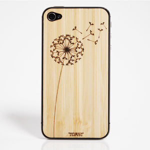 iPhone 4/4S Dandelion Bamboo