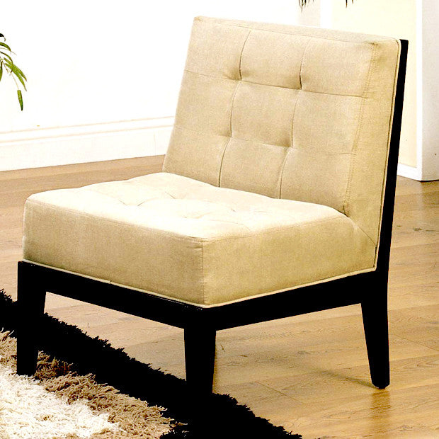 Dupont Armless Chair Taupe