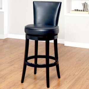 Boston Swivel Barstool 30\ Black""
