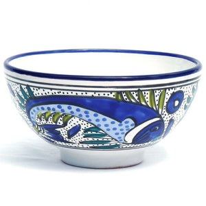 Fish Deep Serving Bowl Medium