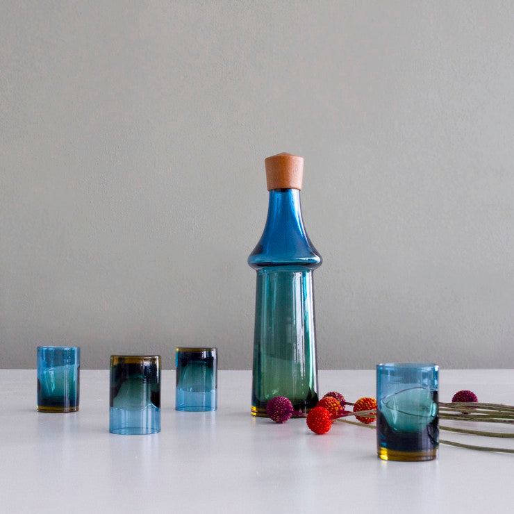 Pukeberg Decanter And Glasses
