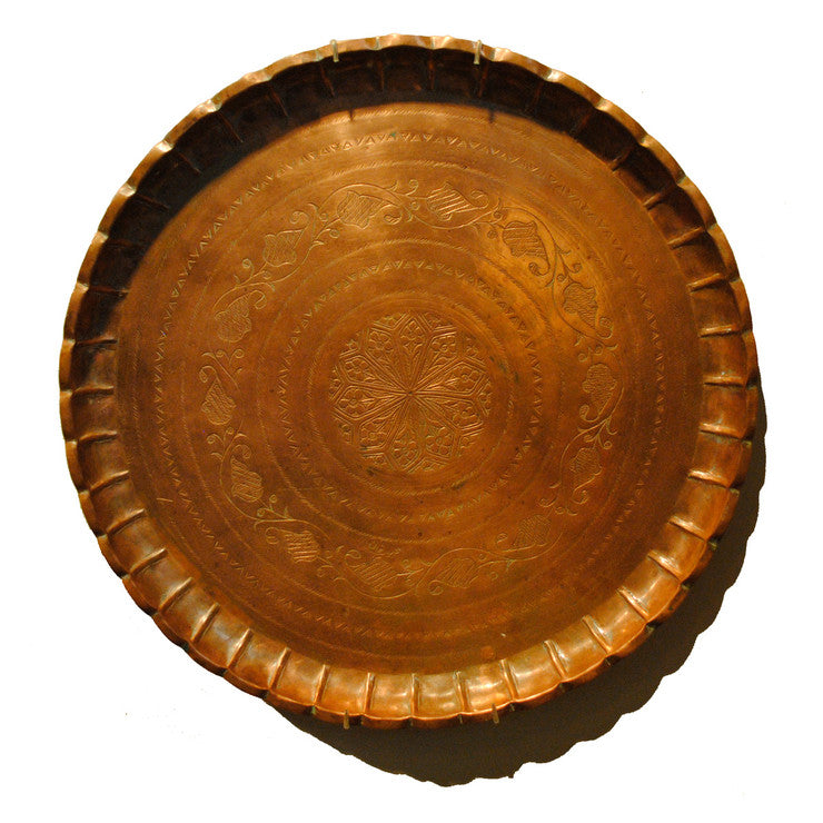 Copper Tray Large